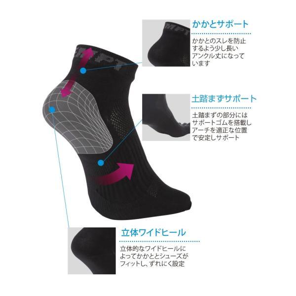 EMPT 5本指 ランニングソックス 靴下 メンズ 黒 ブラック スポーツソックス おすすめ おしゃれ プレゼント かっこいい マラソン ランニング 長距離走 大会 試合|empt|04