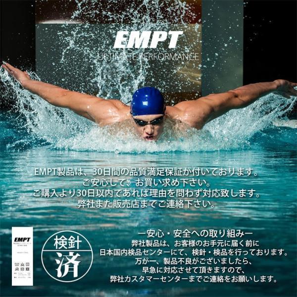 EMPT水泳ゴーグルブラックスイムゴーグル 水泳ゴーグル ユニセックス フリーサイズ 部活 クラブ スクール フィットネス ジム  くもり止め トレーニング 競泳 水|empt|07