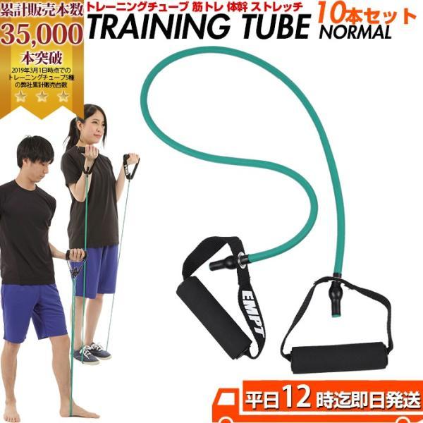 トレーニングチューブ ノーマル 10本セット トレーニングチュ...
