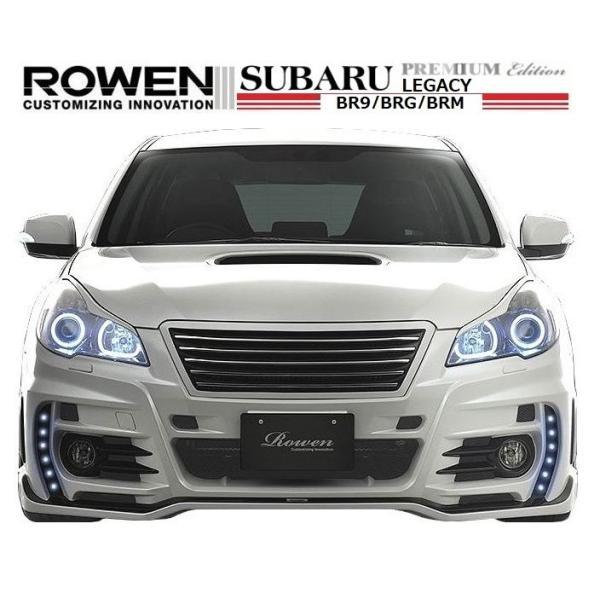 【M's】 スバル レガシィ ツーリング ワゴン & B4(D型)フロント バンパー LEDスポット付 / ROWEN/ロエン エアロ // SUBARU LEGACY / 1S003A20|emuzu-international|03