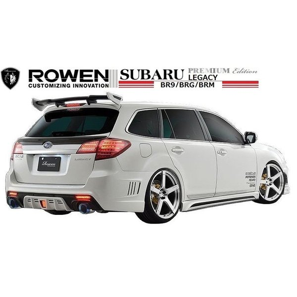 【M's】 スバル レガシィ ツーリング ワゴン & B4(D型)フロント バンパー LEDスポット付 / ROWEN/ロエン エアロ // SUBARU LEGACY / 1S003A20|emuzu-international|05