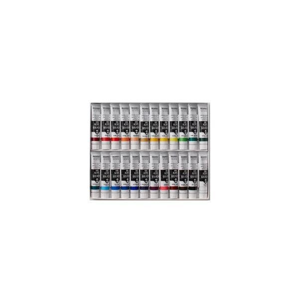 送料無料 ターナー アクリル絵の具 ターナーアクリルガッシュ 24色セット 20ml チューブ入