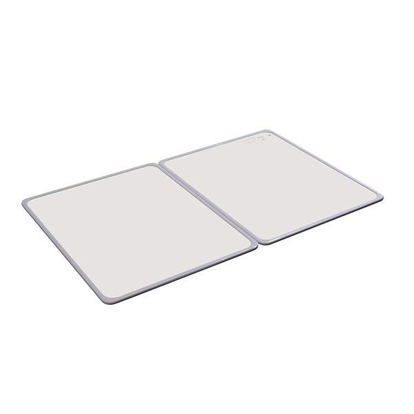 オーエ 組合せ風呂ふた 抗菌・防カビ加工 2枚組 約68×108cm M-11