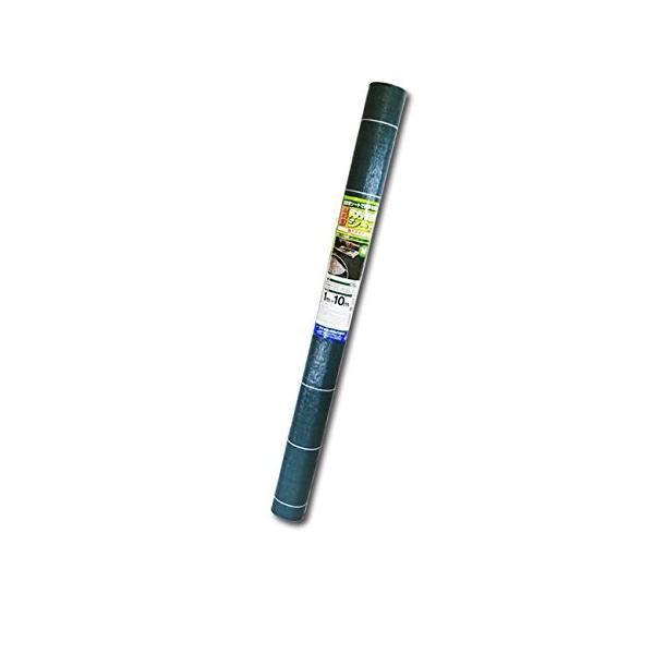 ダイオ化成 高密度 防草シート 強力タイプ 1m×10m グリーン