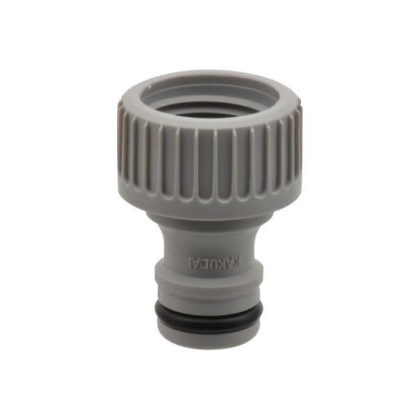 ガオナ ネジ口金 ワンタッチ接続用 (蛇口ニップル G1/2 ネジのある蛇口用) GA-QA002