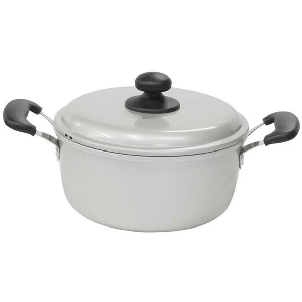 北陸アルミ アルミ製鍋 水明 両手鍋 20cm