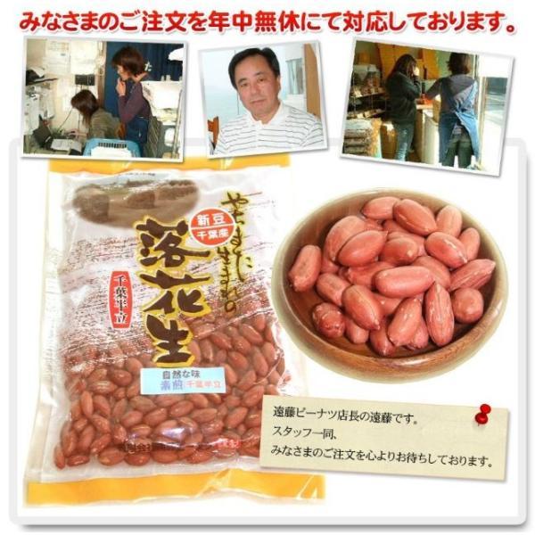 30年度産 新豆落花生 素煎(千葉半立)400g 千葉県八街産落花生|endo-peanuts|06