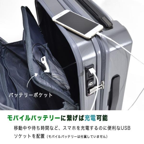 ビジネス用 キャリー スーツケース 静音 Sサイズ 機内持ち込み FREQUENTER GRAND フリクエンター グランド endokaban 04