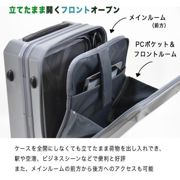 ビジネス用 キャリー スーツケース 静音 Sサイズ 機内持ち込み FREQUENTER GRAND フリクエンター グランド endokaban 05
