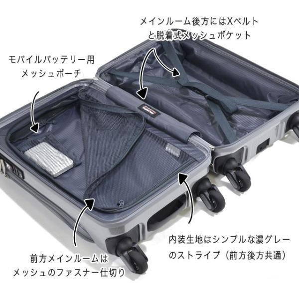 ビジネス用 キャリー スーツケース 静音 Sサイズ 機内持ち込み FREQUENTER GRAND フリクエンター グランド endokaban 07