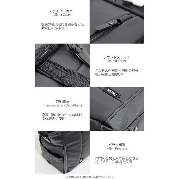 ショルダーバック 横型 Sサイズ ビジネス キャリーループ 肩掛け タブレット収納 撥水 NE3PRO COMMUTE LIGHT 2-765 endokaban 03