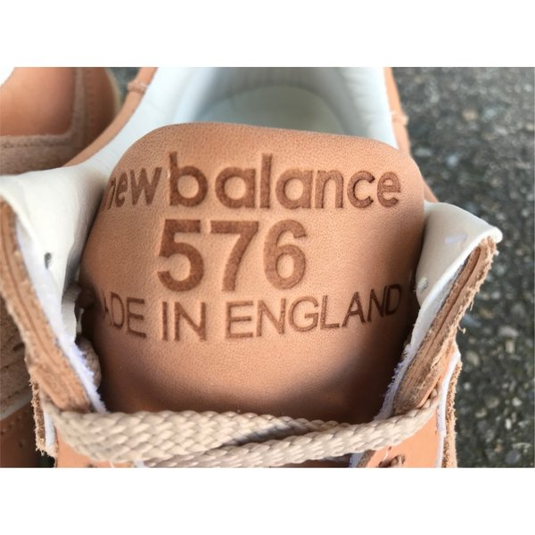【MADE IN ENGLAND】NEW BALANCE M576 VT【HORWEEN社】【イングランド製】TAN【MADE IN UK】【ベジタブルタンニングレザー】|endor|05