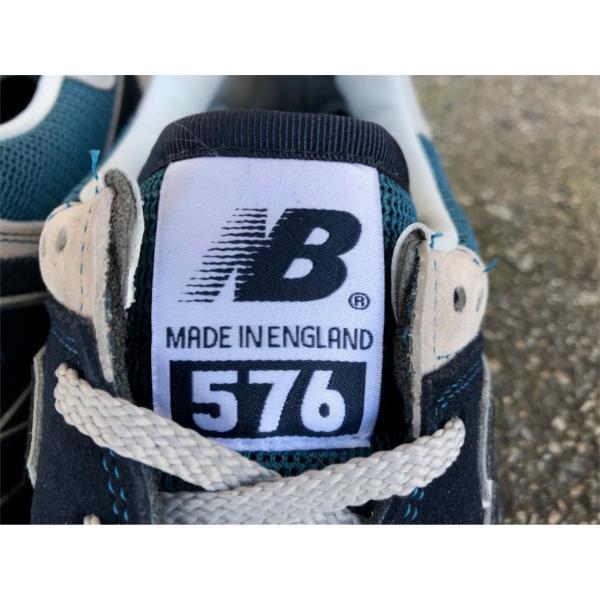 【576 30th ANNIVERSARY】NEW BALANCE OM576 OGN【MADE IN ENGLAND】【ニューバランス M576 オリジナル】【30周年記念モデル】NAVY【イングランド製】 endor 05