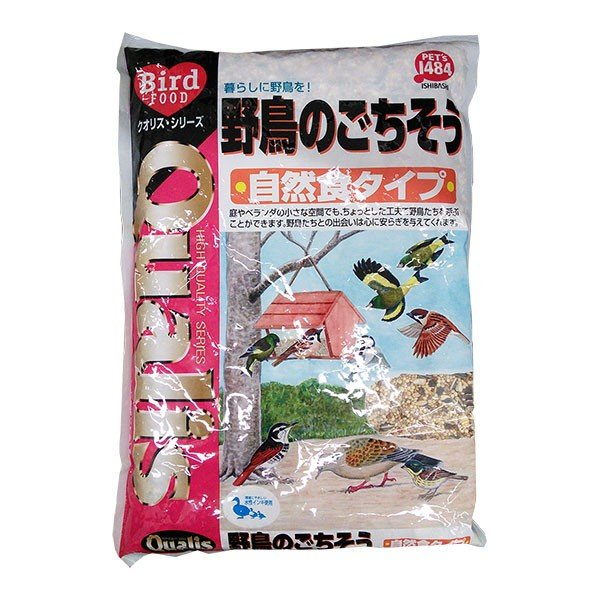 野鳥のごちそう1300g入り(クオリス・自然食タイプ)|engei