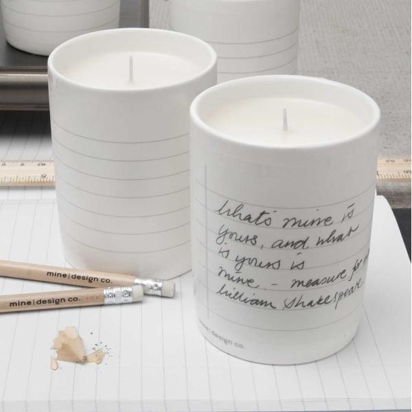アロマ キャンドル プレゼントに人気の香り おしゃれな 書き込める器入り ノーティッド|enitusa|04