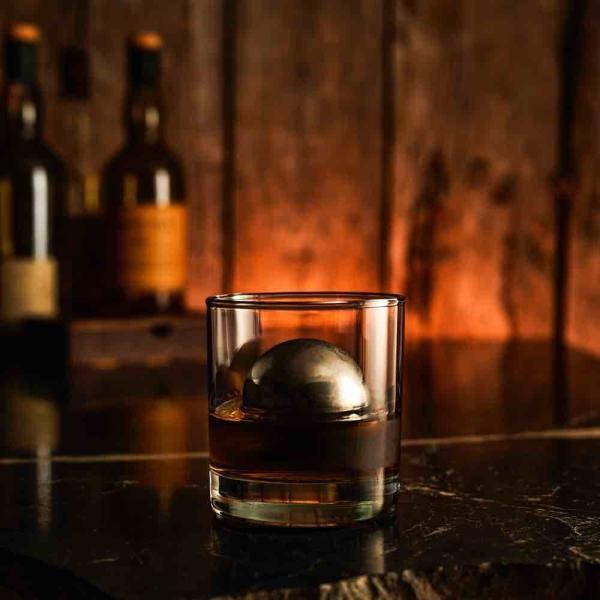 クリスマスプレゼントに ウイスキー グラス アクセサリー 保冷 冷却用 送料無料 ロボール ウィスキー スフィア ( M )|enitusa|02