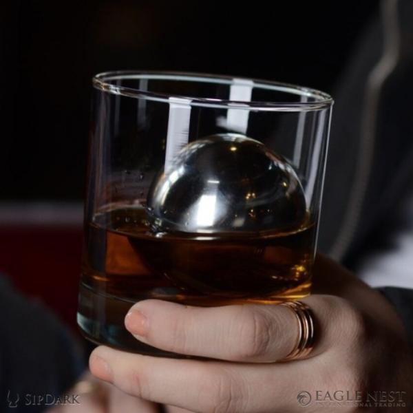 クリスマスプレゼントに ウイスキー グラス アクセサリー 保冷 冷却用 送料無料 ロボール ウィスキー スフィア ( M )|enitusa|08