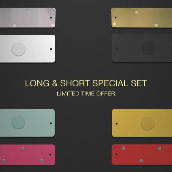 マグネットボード おしゃれな 壁掛け ストリップ  「 ロング2本+ショート1本 スペシャル」セット|enitusa