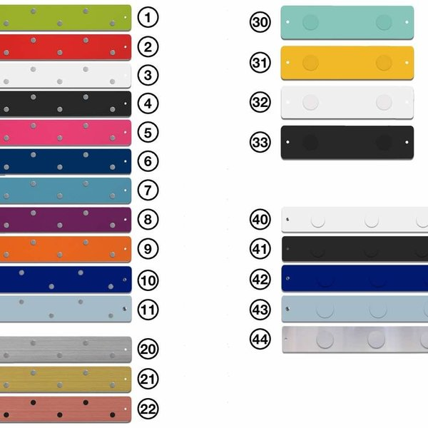 マグネットボード おしゃれな 壁掛け ストリップ  「 ロング2本+ショート1本 スペシャル」セット|enitusa|06