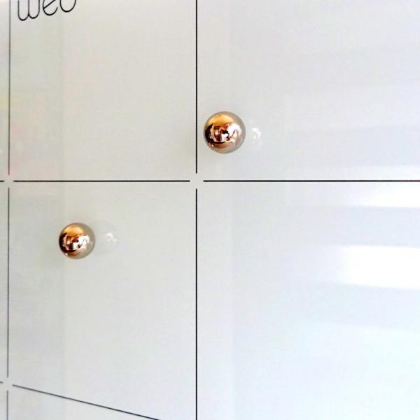 ホワイトボード スケジュールボード 月 予定表 おしゃれな 壁掛け マンスリー プランナー ガラス製|enitusa|02