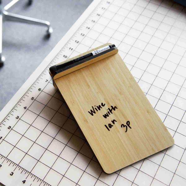 ホワイトボード おしゃれな 卓上 メモ ToDo ボード 送料無料 スティール または 竹製|enitusa