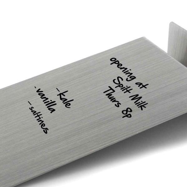 ホワイトボード おしゃれな 卓上 メモ ToDo ボード 送料無料 スティール または 竹製|enitusa|04
