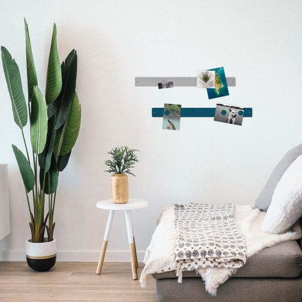 壁面収納 マグネットボード おしゃれな 壁掛け マグネット ストリップ ショート  新生活 応援グッズ|enitusa|02