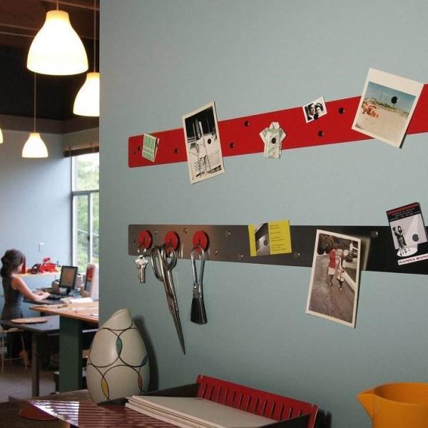 壁面収納 マグネットボード おしゃれな 壁掛け マグネット ストリップ ショート  新生活 応援グッズ|enitusa|10
