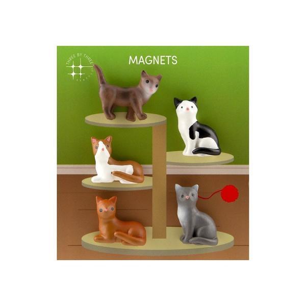 かわいい 磁石 ネオジム アニマル マグネット イヌ ネコ ハリネズミ ウサギ テントウムシ アヒル|enitusa|11