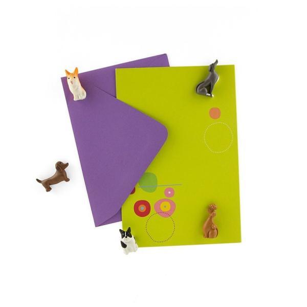 かわいい 磁石 ネオジム アニマル マグネット イヌ ネコ ハリネズミ ウサギ テントウムシ アヒル|enitusa|03