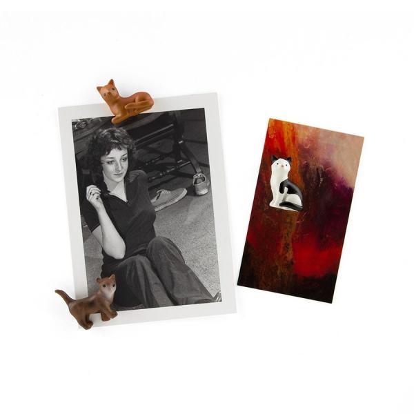 かわいい 磁石 ネオジム アニマル マグネット イヌ ネコ ハリネズミ ウサギ テントウムシ アヒル|enitusa|04