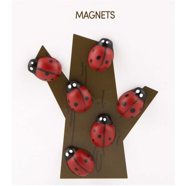 かわいい 磁石 ネオジム アニマル マグネット イヌ ネコ ハリネズミ ウサギ テントウムシ アヒル|enitusa|07