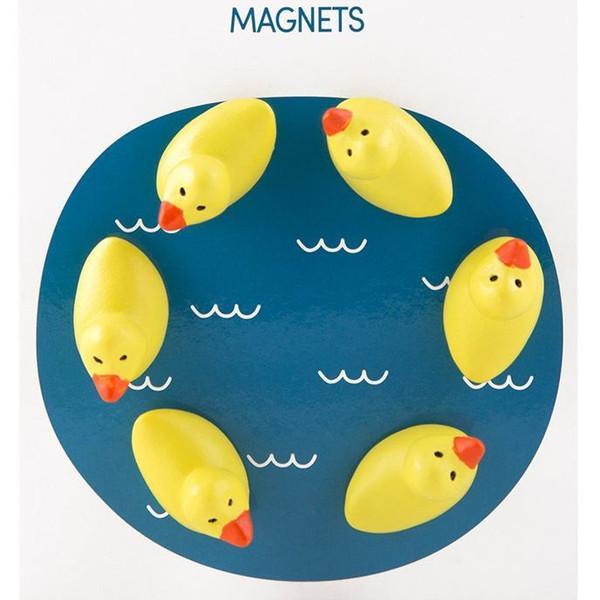 かわいい 磁石 ネオジム アニマル マグネット イヌ ネコ ハリネズミ ウサギ テントウムシ アヒル|enitusa|09
