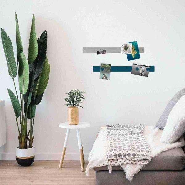 マグネットボード おしゃれな 壁掛け マグネット ストリップ ロング 壁 収納 6.5cm×71cm|enitusa|02