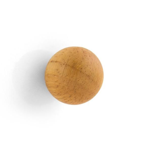 マグネット おしゃれな 強力 ネオジム 磁石 木製 ボール型 ウッド スフィア 直径2cm enitusa