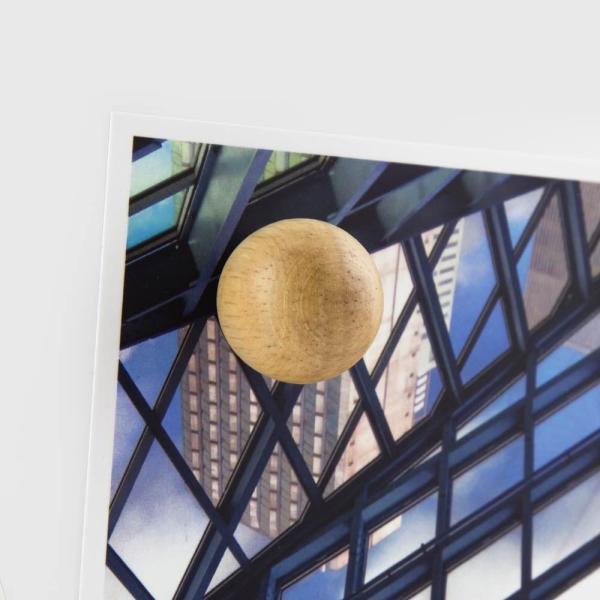 マグネット おしゃれな 強力 ネオジム 磁石 木製 ボール型 ウッド スフィア 直径2cm enitusa 02