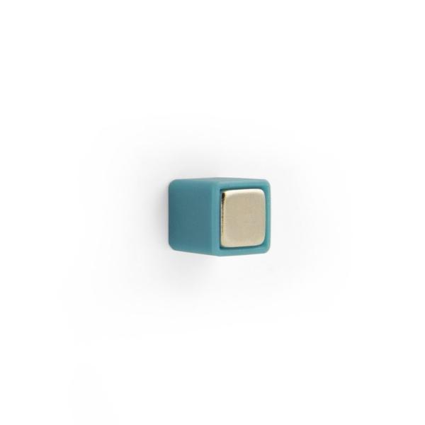 マグネット おしゃれな 強力 ネオジム 磁石 カラー キューブ 白 青 緑 9.5mm|enitusa|02