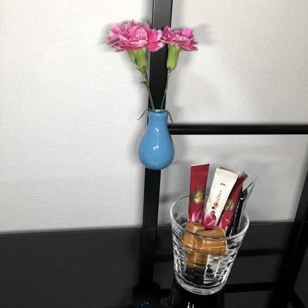 マグネット おしゃれな 花瓶の形の 磁石 セラミック フラワー ベース  7cm×4cm|enitusa|03