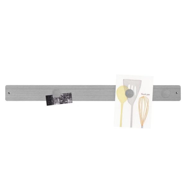 マグネットボード おしゃれな 壁掛け メタル ストリップ ロング 壁掛け 収納 グッズ 6.5cm×71cm|enitusa|03