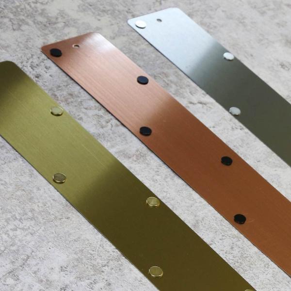 マグネットボード おしゃれな 壁掛け メタル ストリップ ロング 壁掛け 収納 グッズ 6.5cm×71cm|enitusa|06