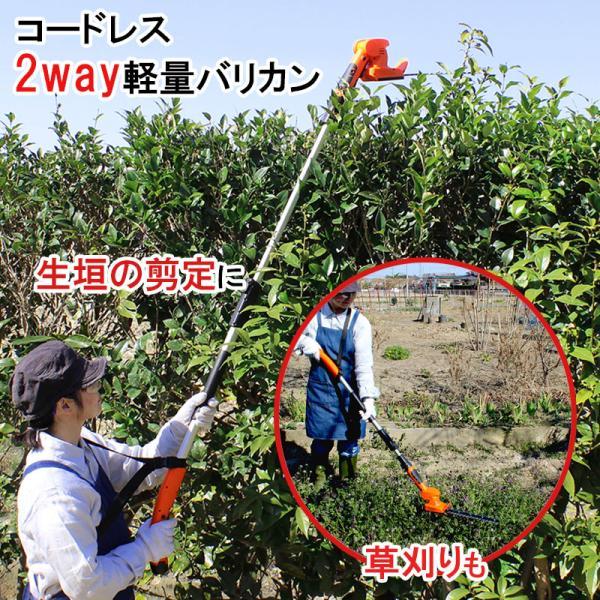 【送料無料】 最新モデル YARD FORCE ヤードフォース 充電式 コードレス2WAYバリカンII家庭用 草刈り機 芝刈り機 充電式