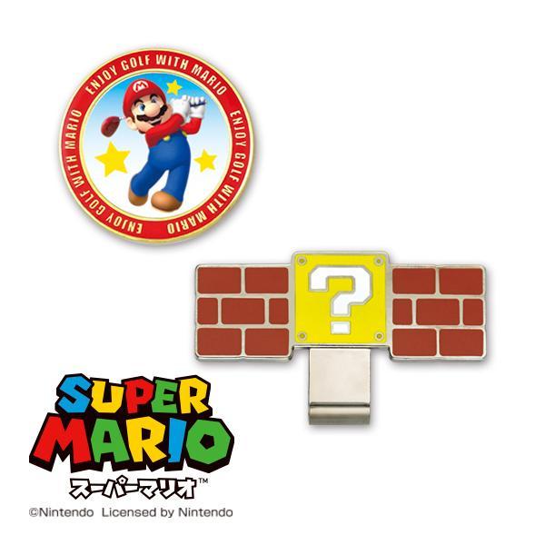 【DM便送料無料】スーパーマリオ ゴルフマーカー(マリオゴルフ)|enjoycb