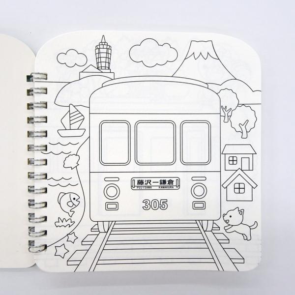 江ノ電ダイカットスケッチブック|enoden-goods|02