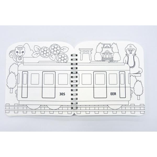 江ノ電ダイカットスケッチブック|enoden-goods|03