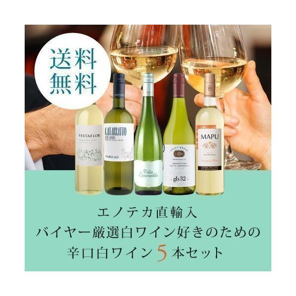 ワインワインセットエノテカ直輸入バイヤー厳選白ワイン好きのための辛口白ワインセットEB3-2 750mlx5