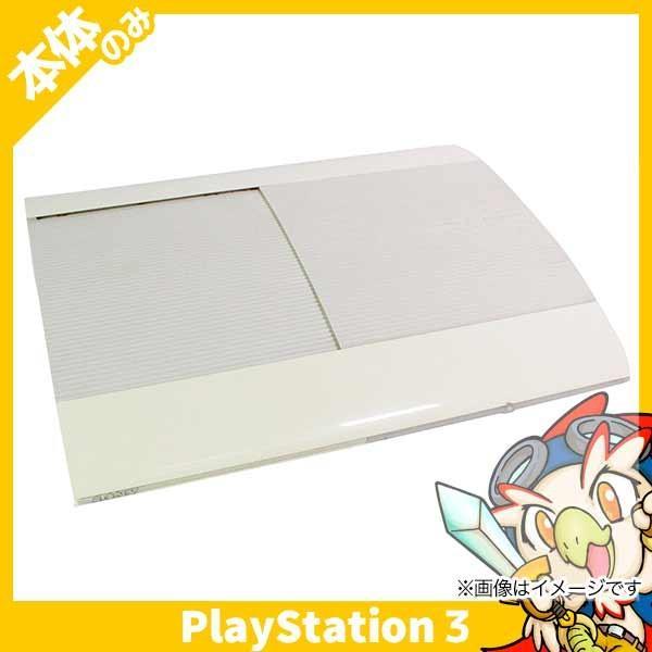 PlayStation3本体 250GB クラシックホワイト CECH-4200BLWの画像