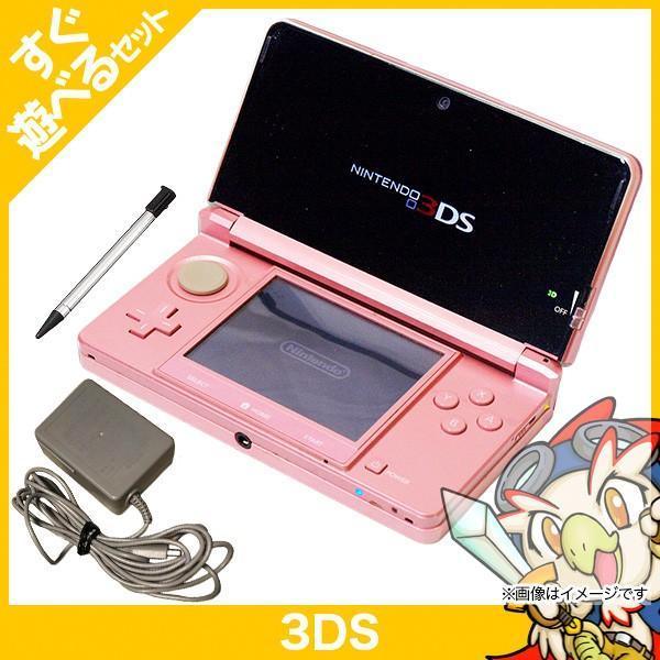 3DS  本体 ニンテンドー3DS 中古 充電器 タッチペン セット すぐ遊べるセット|entameoukoku|05