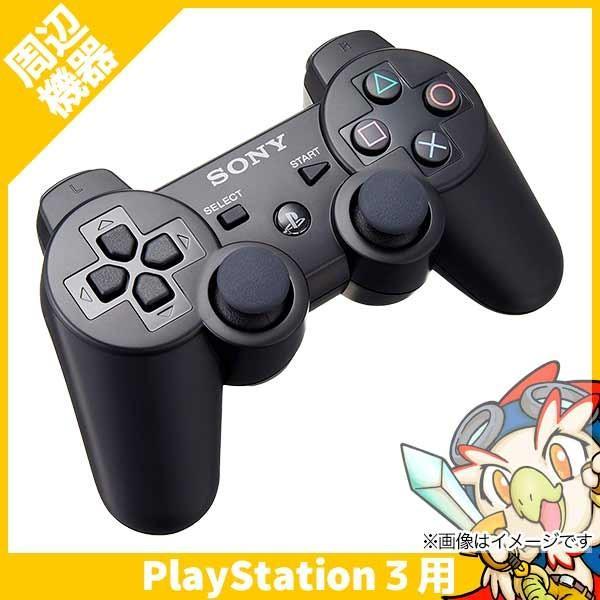 PS3 DUALSHOCK3 コントローラーのみ プレステ3 ワイヤレス デュアルショック3 純正 黒 ブラック 中古|entameoukoku