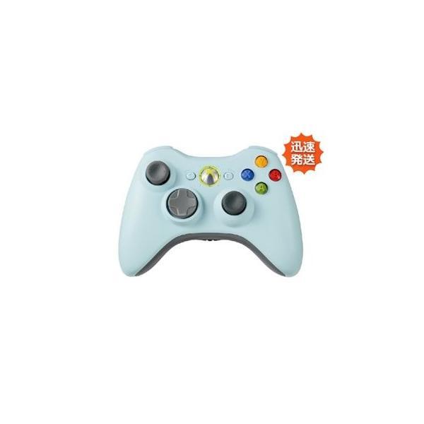 ワイヤレスコントローラ [ライトブルー] Xbox360用の画像