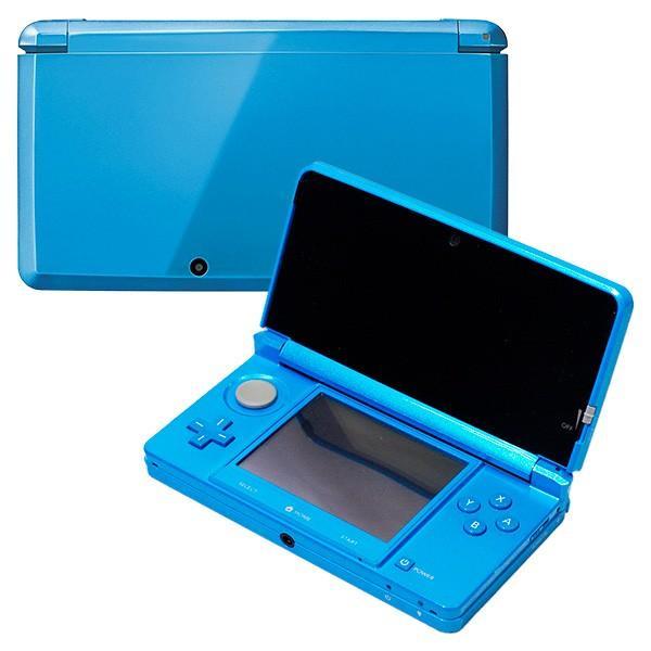 3DS ニンテンドー3DS ライトブルー(CTR-S-BDBA) 本体 すぐ遊べるセット Nintendo 任天堂 ニンテンドー 中古 送料無料|entameoukoku|03